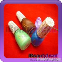 Beautyful nail polish crackle with 46 colors