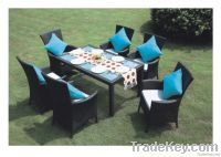 Patio Rattan Dining Tables