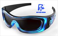Rhythm Vizion - Sound Activated Sunglasses
