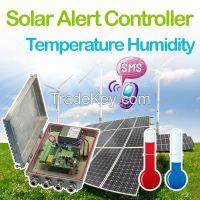 gsm sms solar temperature controller