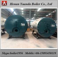 Natural gas fired steam boiler