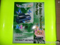 260gram glossy photo paper for inkjet printing
