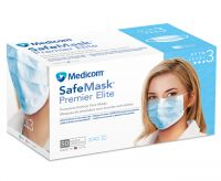 CE Certified 3 Ply Disposable Non Woven Surgical Face Masks With Earloop
