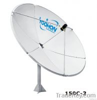 1.5m satelite dish antenna with 500hours Certificition
