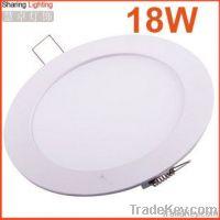 12 Watt recessed LED downlight, led panel ceiling light 12w