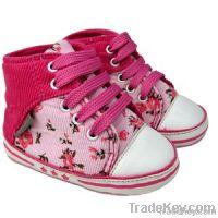 Tobois Baby Canvas Shoes