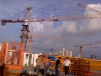 tower crane and building lifters