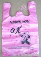 plastic bag, shopping bag, T-shirt bag