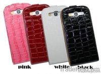 Crocodile Leather Case for