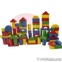 Organic Wooden Toys - Mini Blocks