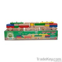 Organic Wooden 3D Puzzle Train