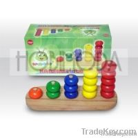 Organic Wooden Toys - Educational Beads