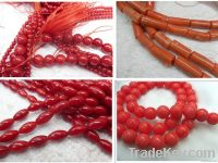 High qualtiy Coral Beads/Pink Coral Beads/Various color and shape