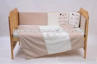 Cot bedding line