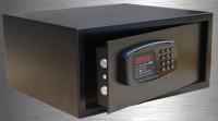 led display hotel room safe