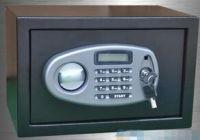 LCD display home safe