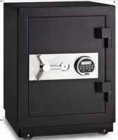 fireproof electronic digital lock money key safe box