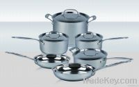 cookware sets 10 pcs in stainless steel