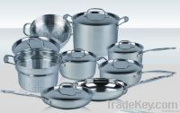 cookware sets 14pcs in stainless steel