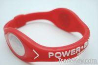 Lovely silicone power balance bracelet