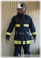EN469 firefighting clothing, fireman suit with Nomex