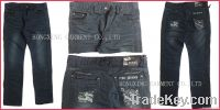2012  hot sell fashion men jeans in PANAMA