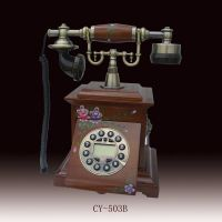 antique telephone/wooden telephone(CY-503B)