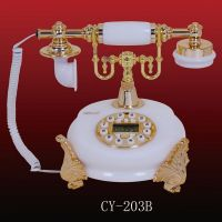 Jade Classic Phone, CY-203A, antique telephone