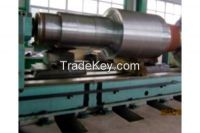 Induction Hardening Jobwork on Heavy sharp roll part