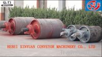 Driving rollers for belt conveyors