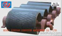 Returning rollers for belt conveyors