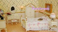 Dollhouse miniature Bedroom Victorian Furniture Wardrobe 6pc WB008