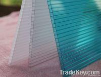 Hollow polycarbonate sheet
