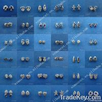 2012 fashion 925 sterling silver stud earrings