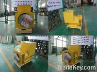Brushless alternator, diesel electric generator