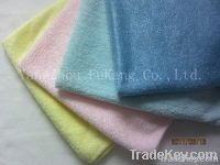 Polyester towel and microfiber cleaning cloth