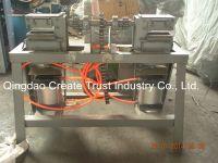 Uncured rubber wire separator machine / unvulcanized tire leftovers recycling machine