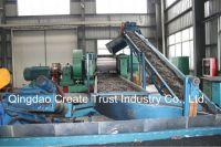 ring cutter/rubber strip cutter/ rubber block cutting /tire steel wire remover machine