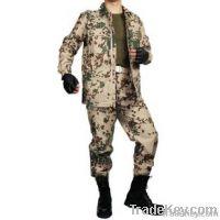 German desert spotted suit Camouflage combat uniform