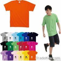 (Free shipping) wholesale price advertising T shirt