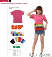 (Free shipping) Fasionable cotton t shirt for man & woman