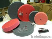 Metal grinding tools for surface deburring