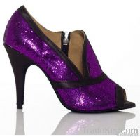 2012 Popular Glitter latin shoes ballroom shoes