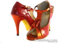 2012 New Design Lady's Leather Dance Shoes