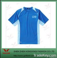 Dry fit style Sport T shirt with printed logo
