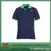 Navy blue Men's Business shirts with 100% coton