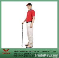 Mercerized Cotton Pique Men Golf Shirts