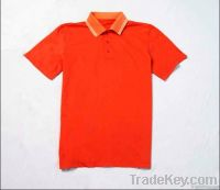 fashionable golf t-shirt with short sleeve