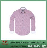 Sunmmer Fashion Plaid Men Shirts