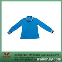 fashionable long sleeve t-shirt made of dry fit